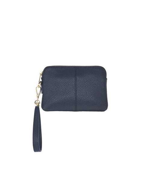 Bowery Coin Purse + Wristlet French Navy