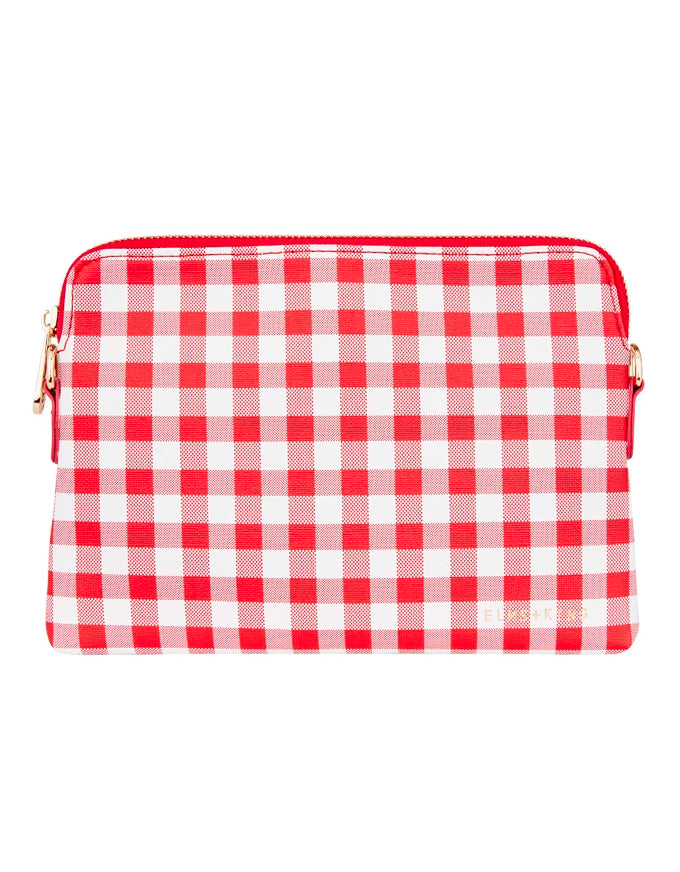 Bowery Wallet Red Gingham