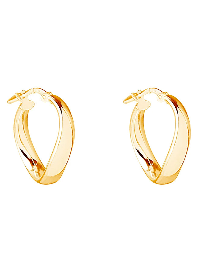 Eddy Hoop Yellow Gold