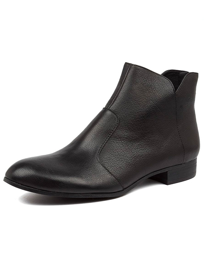 Fronia Ankle Boots Black Leather