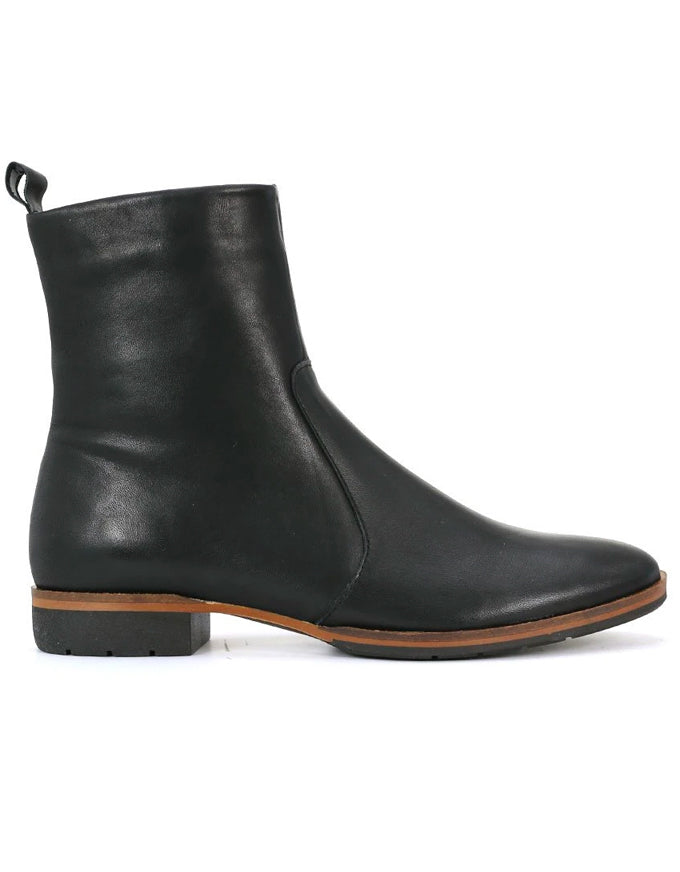 Gada Ankle Boots Black Leather
