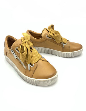 Jovi Sneaker Tan Leather
