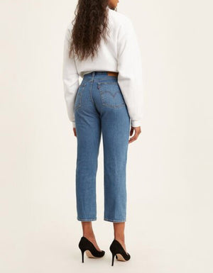 The Wedgie Straight in Jive Sound.  The cheekiest jeans in your closet. Inspired by vintage Levi's® jeans.