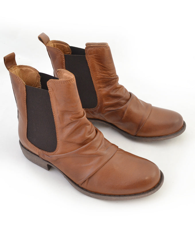 Willo Ankle Boots Brandy.