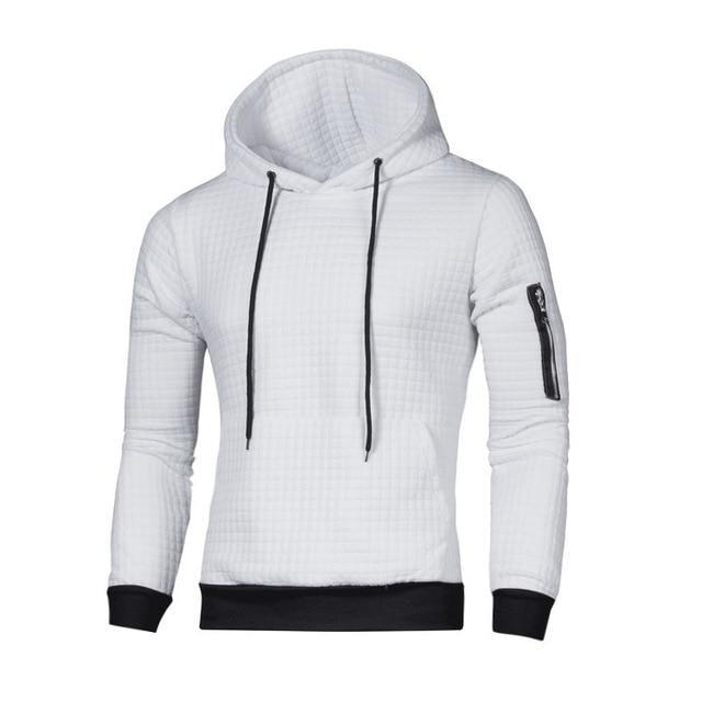 Zero Dark Tactical White Recon Hoodie