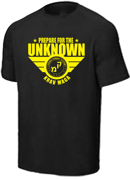 Epic MMA Gear Krav MAGA Performance T-Shirt | Prepare For The Unknown