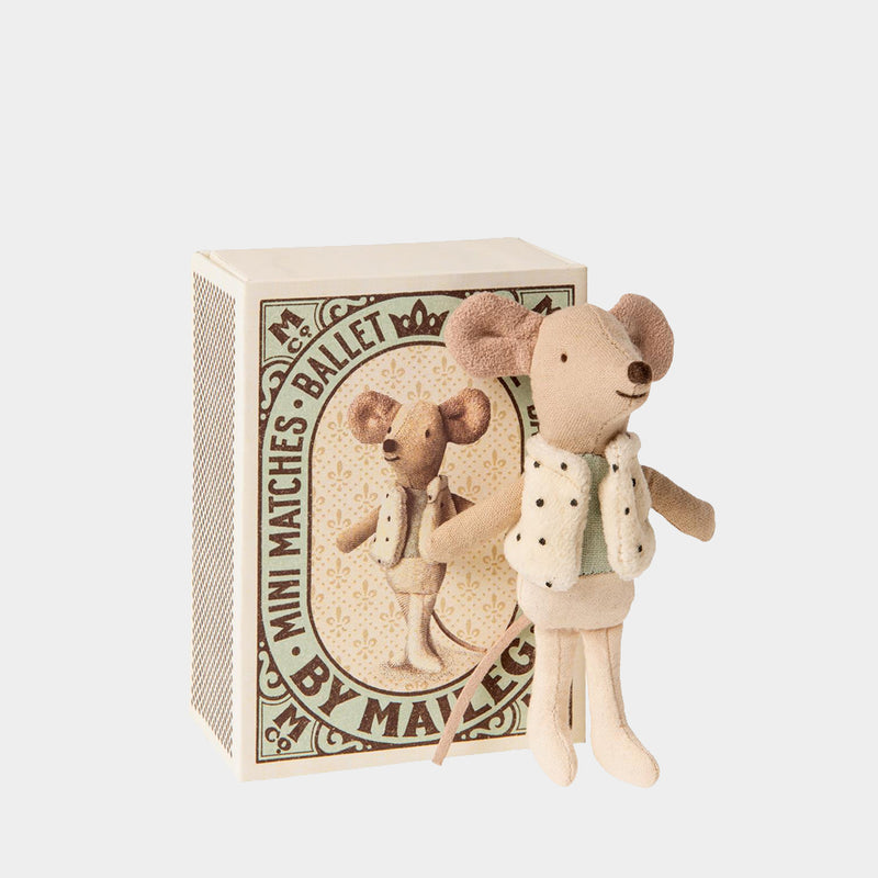 Dance Mouse in Matchbox | Maileg