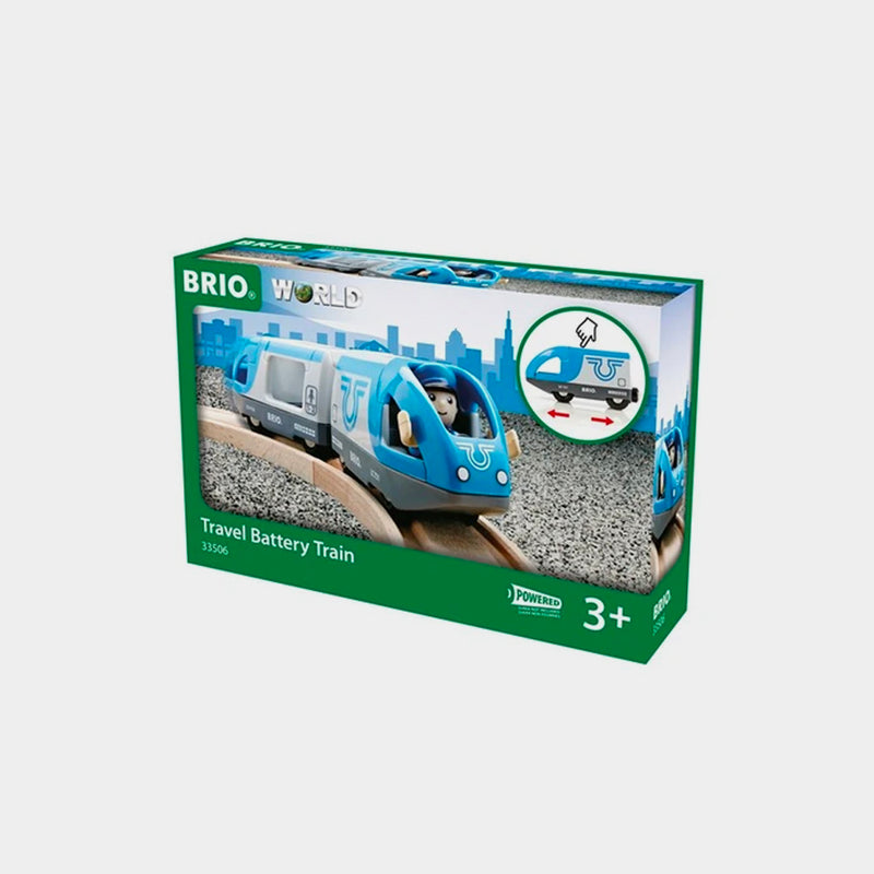 Travel Battery Train | BRIO