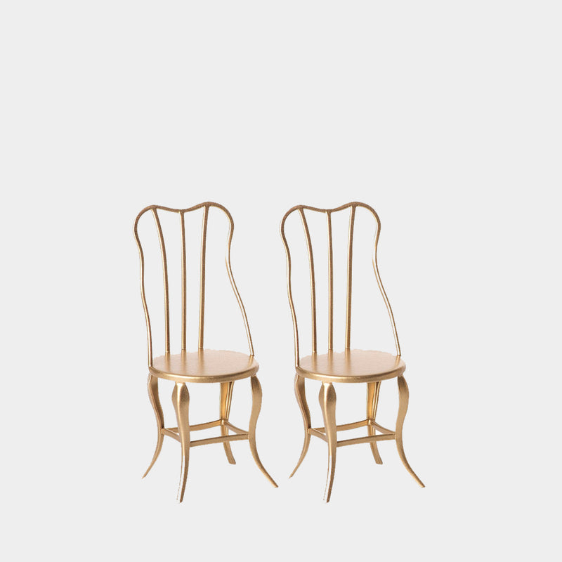 Gold Chairs | Maileg