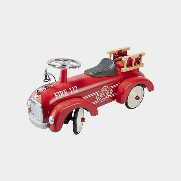 Fire Engine Push Car