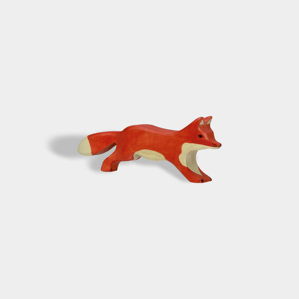 Running Fox | Holztiger Wooden Animals