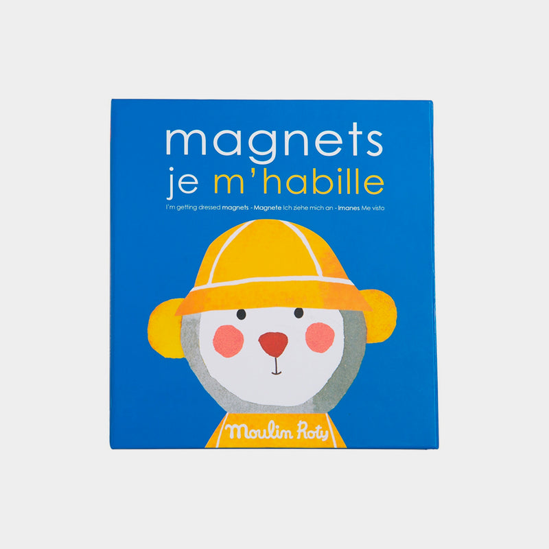 Magnetic Getting Dressed Game | Moulin Roty