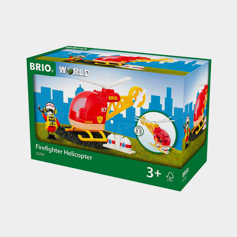 Firefighter Helicopter | BRIO