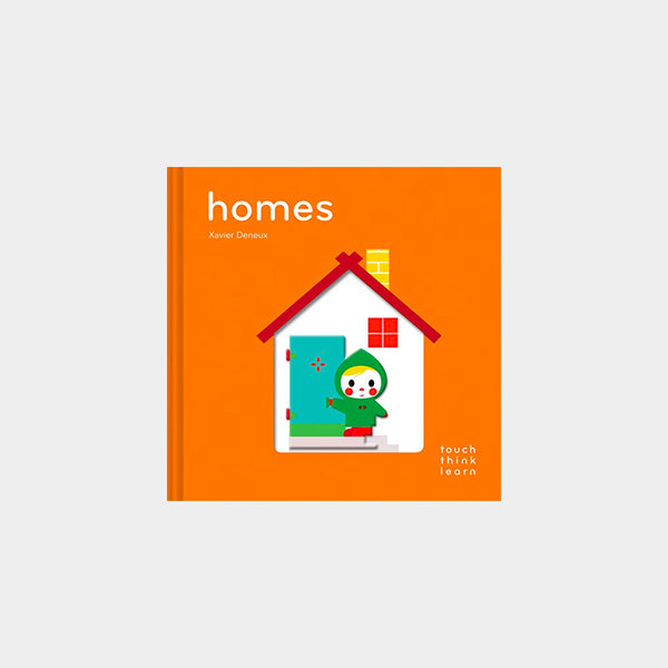 Homes | A Touch Think Learn Book