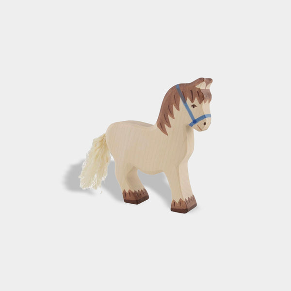 Cart Horse | Holztiger Wooden Animals