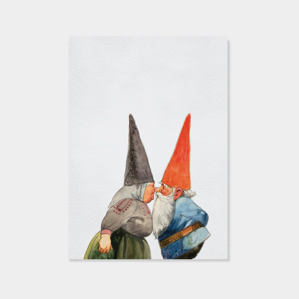 Kissing Gnomes | Rien Poortvliet