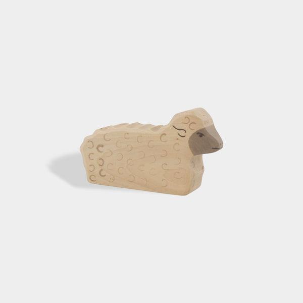 Lying Sheep | Holztiger Wooden Animals