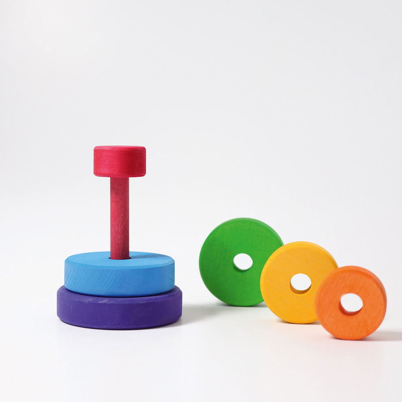Rainbow Stacking Tower, Small