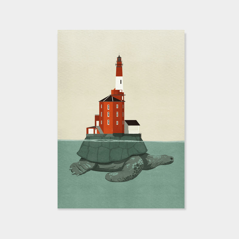 Lighthouse Turtle | Gottardo