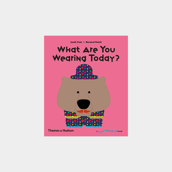 What Are You Wearing Today? | A Flip Flap Pop Up Book