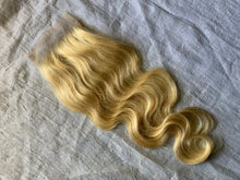 Load image into Gallery viewer, Royal Blonde 4x4 Lace Closure