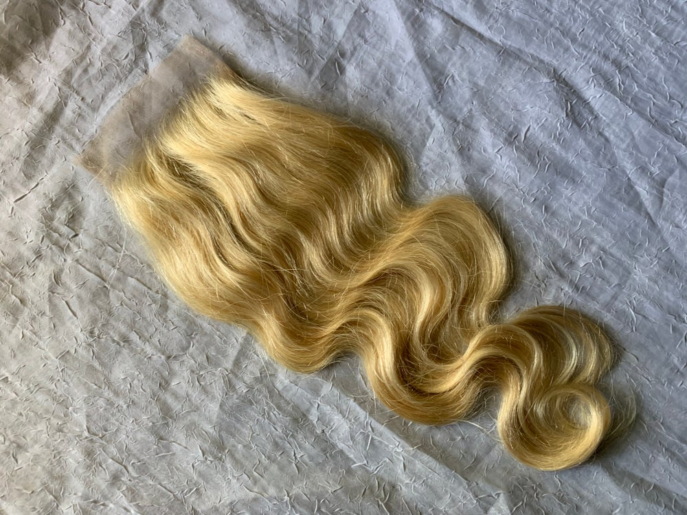 Royal Blonde 4x4 Lace Closure