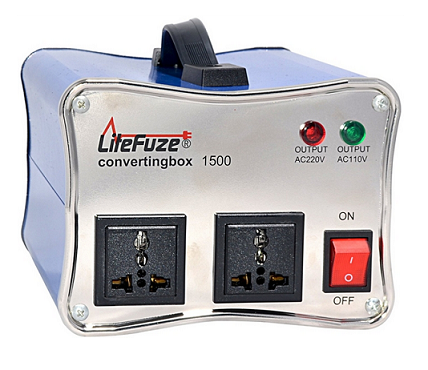 LiteFuze ConvertingBox™-Voltage Converters & Transformers