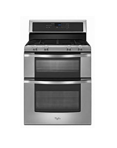 Whirlpool 3WGG555OBS Double Stainless Steel Gas Oven 220V