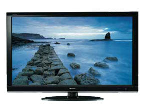 SHARP LC-46A66M 46'' AQUOS FULL HD 1080p MULTI SYSTEM LCD TV 110-240 VOLTS