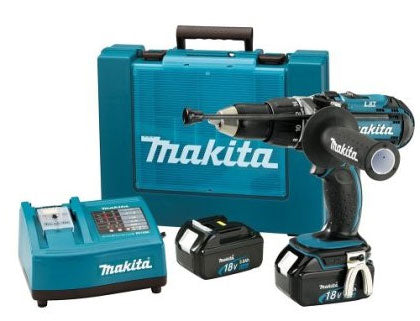 Makita BHP451 Hammer Driver-Drill Kit 220V