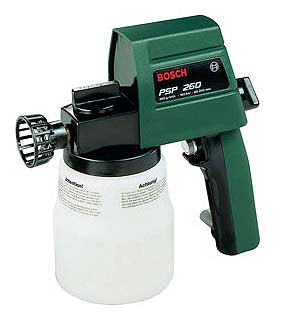 Bosch PSP260 Spray Gun for 220 Volts