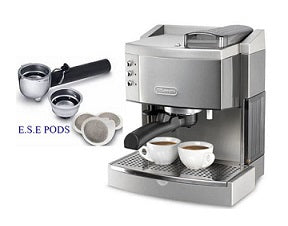 DeLonghi EC750 Pump Espresso Coffee Maker 220 Volts