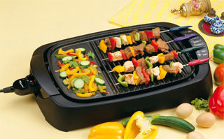 EWI TBBQ2742G Barbeque Electric Grill Pan 220 Volts