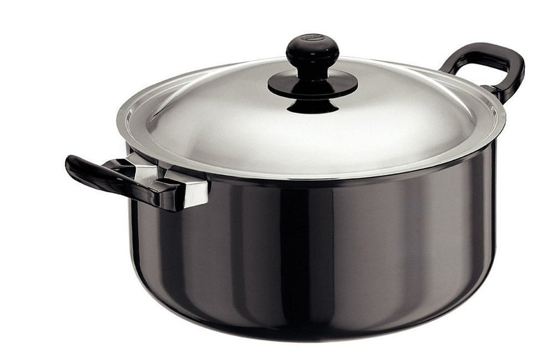 Hawkins L36 Futura Hard Anodised Stewpot with Lid, 5 litres