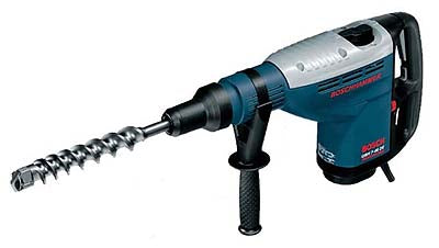 BOSCH GBH7-46DE 240 VOLT ROTARY HAMMER WITH TURBO POWER FOR CHISELLING AND BREAKING