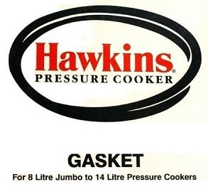 Hawkins Sealing Gasket For 8 L  Jumbo to 14  L Pressure Cooker Ring D10-09