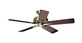 "Hunter EX524 52"" Ceiling fan 220V"