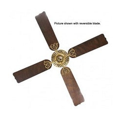 "Hunter EX840 52"" Burnished Brass Ceiling Fan 220V"