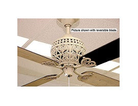 "Hunter EX842 52"" Gray Wash Ceiling Fan 220 Volts"