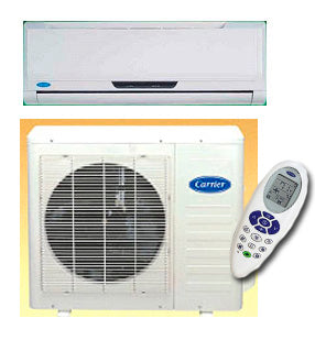 Carrier 42LUV026K / 38LUV026K 9,000 BTU Heat & Cool Split Air Conditioner for 220 Volts
