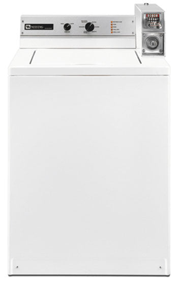 Maytag MAT14CSBGW Commercial Top Load Washer for 220-240 Volts