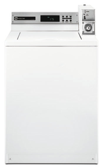 Maytag MAT14PDAGW Commercial Top Load Washer for 220-240 Volts