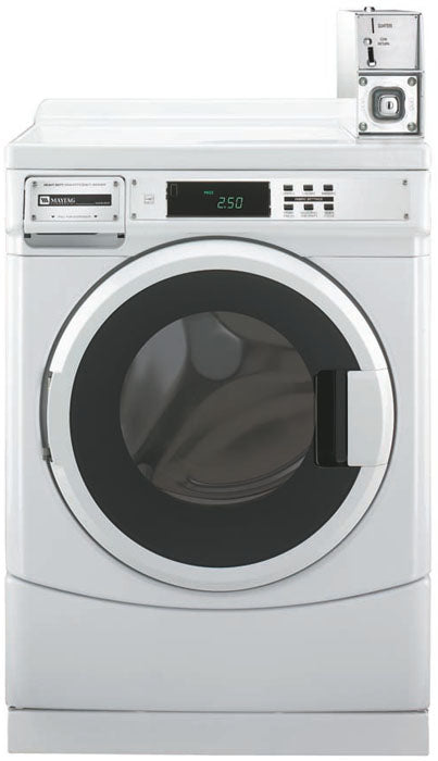 Maytag MHN30PDBGW 3.2 Cu. Ft. Commercial Washer for 220-240 Volts