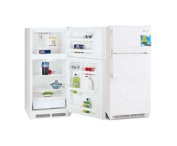 Frigidaire MRTG15V4PW Top Mount Refrigerators 220V