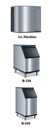 Manitowoc MS322 Series Commercial Ice Maker
