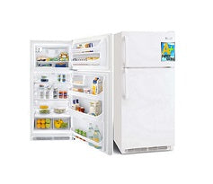 Frigidaire MRTG18V5PW Top Mount Refrigerators 220V