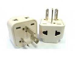 Type I - Ckitze Grounded 2 in 1 Plug Adapter (2 Pack)- China, Australia, New Zealand