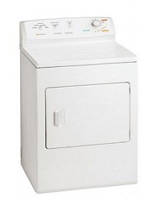 White Westinghouse by Electrolux WER341ZLW Electric Dryer 220V