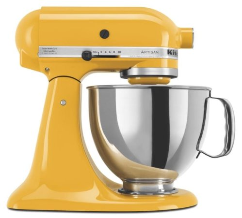 KITCHENAID 5KSM150PSEYP YELLOW PEPPER ARTISAN STAND MIXER 220-240 VOLT