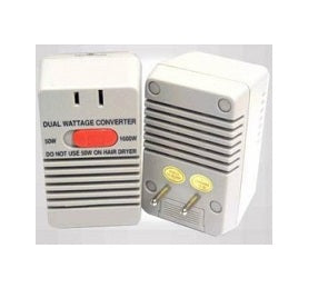 50/1600 Watt 2-in-1 Dual Step Down Travel Voltage Converter SS221